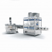Buy cheap HUITUO full automatic filling capping and labeling machine for ketchup from wholesalers