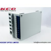 Buy cheap 19'' Fiber Optic Patch Panel Distribution Box 144 Core ODF Unit / 144fo For from wholesalers