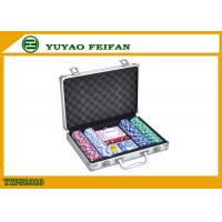 Casino Colored Personalized Poker Chips Sets , Customizable Poker Chips