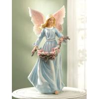 China Resin Angel Little Angel Figurines Angel Girl on sale