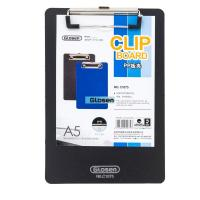 Quality Durable Blue Personalized Plastic Clip Board Screen Pringting Logo for sale