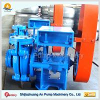 Quality electric motor drive horizontal ash slurry pump china manufacturer for sale