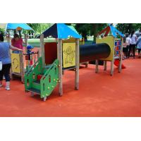 Quality Pour In Place Playground Surface Materials For Kids Playing Polyurethane Resin Material for sale