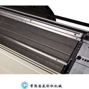 Quality Three System Auto Cotton Yarn 3.5G Blanket Knitting Machine for sale
