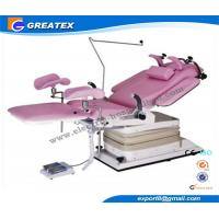 Quality Advanced Electric Hydraulic Gynecological Chair Obstetric Table with Shadowless lamp for sale