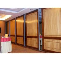 China Floor To Ceiling Hanging Acoustic Folding Partitions For International Conference Center on sale