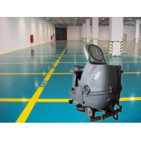 China Cleaning Company Washer Scrubber Dryer Machines , Hard Ground Walk Behind Floor Scrubbers on sale