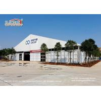 Quality Big PVC Epidemic Prevention Disinfection Tent Clear Span Wind Load 100km/H for sale