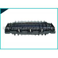 Quality Mid - Plate Fusion Splicing Fiber Optic Closure 72 Core ABS Housing for sale