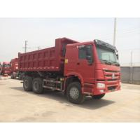 Quality 16m³ 6x4 336hp HOWO Heavy Duty Dump Truck For Transporting Soil / Sand for sale