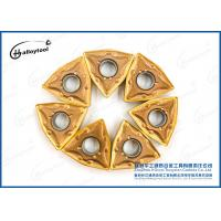 Buy cheap Tungsten Carbide Inserts to cut Limestone blocks in quarries with yellow coating from wholesalers