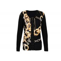 Buy Breathable Women's Knit Cardigan Sweaters with Zip Front Special Patterns for Winter at wholesale prices