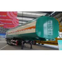 Quality Carbon Steel Tank Truck Trailer For Oil Transportation ISO Standard for sale