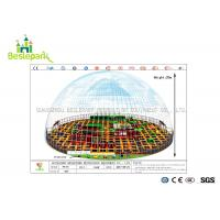 Buy EVA Cover Indoor Soft Playground Colorful Theme With Electric Basketball Games at wholesale prices