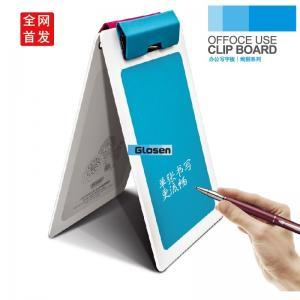 Quality A5 Coloured Double Plastic Clip Board Advanced Technics For Company for sale