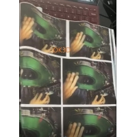 Quality Soft lenticular printing tpu 0.36MM 3d lenticular fabric sheet images lenticular fabric print for clothes arts sewing for sale
