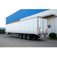 Quality Truck Refrigerated Tractor Trailer Reefer Custom Cargo Trailers High Wall Thickness for sale