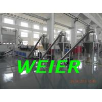Quality PVC Granules / Pellets Plastic Recycling Machine With Double Screw Extruder for sale