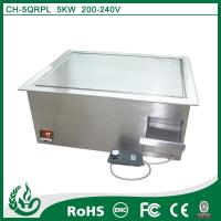 Quality Chuhe stainless steel built in griddle cooker with 220v for sale