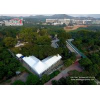 Quality 25m Wide Customized Luxury Wedding Tents With High Peak / Outdoor Exhibition Tents for sale