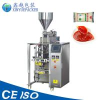 China Large Pouch Automatic Sauce Packing Machine / 500g 1 KG Pouch Packing Machine on sale