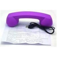 Quality Cordless volume control Retro Bluetooth Phone Handsets with rubber painting material for sale
