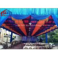 Quality Outdoor Party Aluminum Stage Truss Square Shape Silver Colr 400mm X 400mm Size for sale