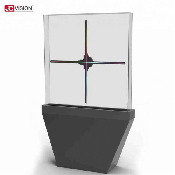 Buy Exhibition 3D Holographic Display LED Fan 3D Hologram Projector at wholesale prices