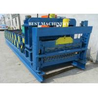 Quality Roof Tile Roll Forming Machine Double Deck Various Profile Corrugated and Glazed for sale