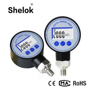 Quality 60mm Digital Pressure Gauge Manometer/Digital Air Pressure Gauge for sale