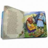 China Children's Book with Brochure Printing, Lot of Pictures to Help Kids to Read, Professional Design on sale