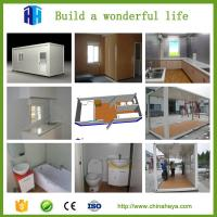 China Hurricane proof prefab modular homes hotel room container cabin kits on sale