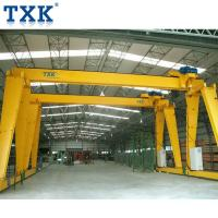 Quality 10 Ton Motorized Gantry Crane With European Model Electric End Beam for sale