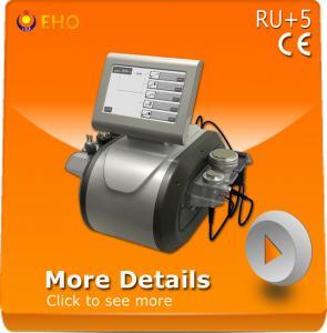 Quality RU+5 Multifunction rf cavition vacuum slimming machine for sale