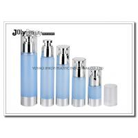 Quality Clear Plastic Airless Pump Bottles Containers , Empty Cosmetic Containers for sale