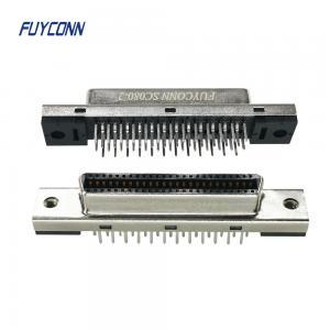 Quality SCSI Female Vertical PCB Connector, 14P 26P 50P SCSI Connector for sale