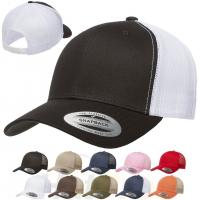 Buy cheap Plastic Closure Unisex Baseball Caps Nylon Cotton Trucker Yupoong Classic Blank from wholesalers
