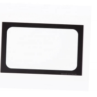 Quality High Temperature Oven Glass Panels Silk Screen Tempered Glass for sale