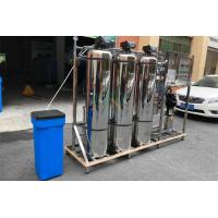 Quality 1.5TPH Hard Water Softener System / Treatment Systems With Stainless Steel Tank for sale