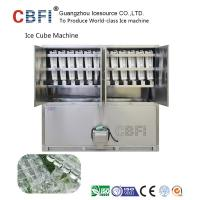 Quality Large 20 Tons Edible Ice Cube Machine With r22 Gas For Beverage Shop for sale