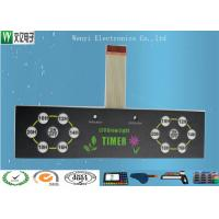 Buy Round PET Circuit Embossing Membrane Switch 0.5mm Pitch ZIF Wirelead Multi - Keys at wholesale prices