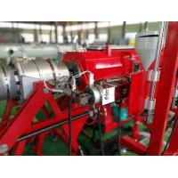 Quality Full Automatic HDPE Pipe Extrusion Line With PLC Control System 75kw SIEMENS motor for sale