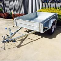 Quality 7X4 Hot Dipped  Galvanised Trailer 750KG for sale