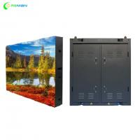 Quality P10 Stage Rental LED Display Steel Aluminium Cabinet Design FCC UL Approved for sale
