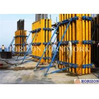 Quality Rectangular Wall Formwork Combined with Wooden Girder H20 and Steel Walings for sale