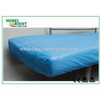 Quality Breathable CPE  Disposable Bed Protectors Hospital Bedding Sheets for sale
