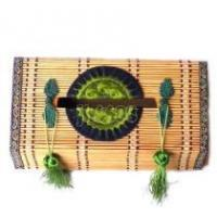 Quality bamboo woven tissue box, handicrafts,folk crafts,folk arts for sale