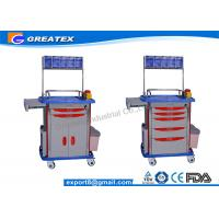 Quality Leading supply of hospital trolley  , Luxurious ABS Anesthesia mobile medical cart for sale