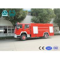 Quality Sinotruk Howo 4 x 2 Fire Fighting Truck For Emergency Rescue Use for sale