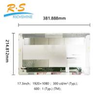 """Buy cheap 17.3"""" eDP 30 Pins TTF Laptop LCD Display module notebook screen from wholesalers"""